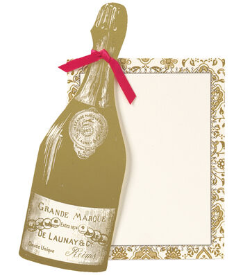 Anna Griffin Champagne Extreme Diecut Custom Invitation