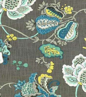 "Richloom Studio Print Fabric 54""-Bach Aquamarine"