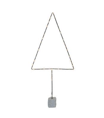 3R Studios Christmas Tree Shape Decor with 50 LED Lights