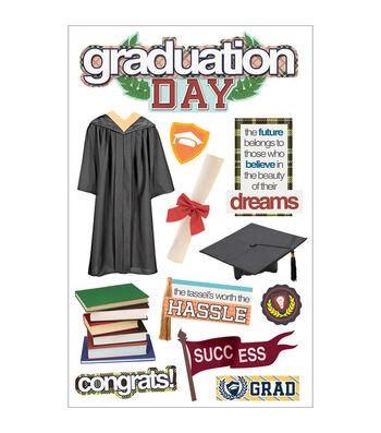 Graduation-3d Stickers