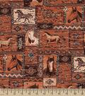 Snuggle Flannel Fabric 42\u0027\u0027-Sundance Patch