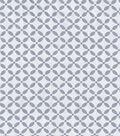 Sew Classics Cotton Fabric Burnout Geo White Poly Cotton