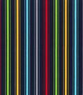 Nursery Cotton Fabric 43\u0022-Transport Stripe