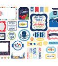 Echo Park Paper Co Ephemera Cardstock Die Cut Pieces-Under The Sea