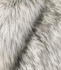 Fashion Faux Fox Fur Fabric 57\u0022-Silver