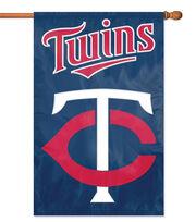 Minnesota Twins Applique Banner Flag, , hi-res