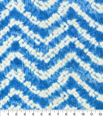 Waverly® Spotlight Upholstery Fabric 54''-Cobalt Color Waves