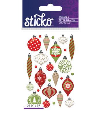 Sticko Mini Christmas Ornaments Epoxy Stickers