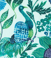 "Keepsake Calico™ Cotton Fabric 43""-Peacock Blue Green Floral, , hi-res"