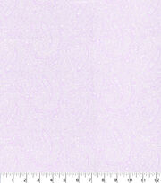 "Made in America Cotton Fabric 44""-Pearl Paisley Lilac, , hi-res"