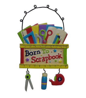 Maker's Holiday Christmas Ornament-Born To Scrapbook