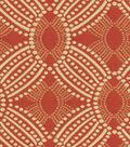 HGTV Home Upholstery Fabric 55\u0022-Time Zone Tomato