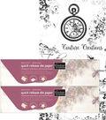 Couture Creations Quick Release Die Paper Twin Pack 5.9\u0022X16.4\u0027 Each