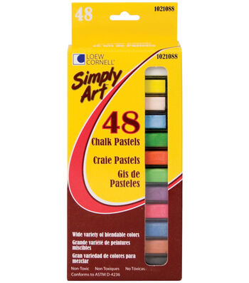 Simply Art Chalk Pastels 48Pk