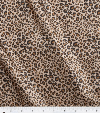 Fashion Lining Fabric 57''-Leopard