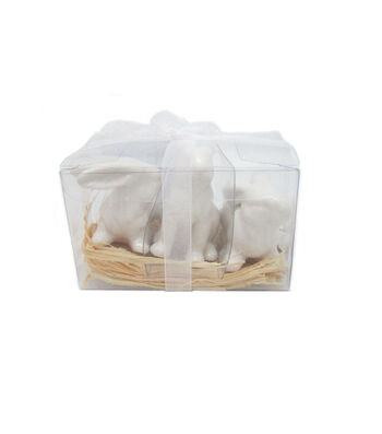 Easter Pack of 3 Dolomite Bunnies