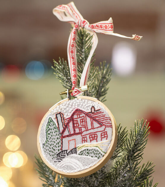 Embroidered Photo Ornament, , hi-res