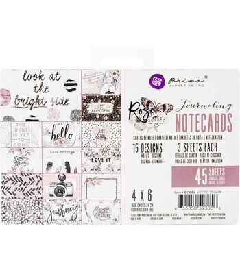 "Prima Journaling Cards 4""X6"""