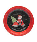 Maker\u0027s Holiday Serving Bowl Tin-Santa Truck