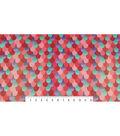 Soft N Comfy Fleece Fabric 57\u0027\u0027-Pink Metallic Mermaid