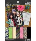 Chalk it Now - Pattern Mat Pad