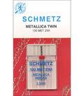 Schmetz Double Metallic Machine Needle 1/Pk-Size 2.5/80