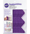 Wilton® Precision Patterns Fondant Mold-Harringbone