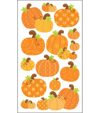 Sticko Harvest Stickers-Pumpkins