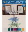 DCWV 11-1/2\u0022x15\u0022 Paint & Create Set: Paris