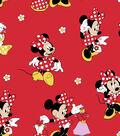 Disney® Minnie Mouse Cotton Fabric 43\u0022-Loves Dresses