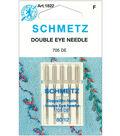 Schmetz Double Eye Machine Needle 5/Pk-Size 12/80