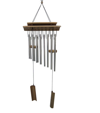 Wild Blooms Long Bamboo Top Wind Chime