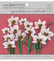 Lia Griffith Paper Flower Garden-Cymbidium Orchids, , hi-res
