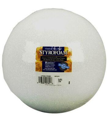 "Styrofoam Ball 8"""