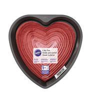 "Wilton® 9"" Non-Stick Cake Pan-Heart, , hi-res"