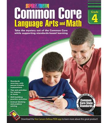 Spectrum Common Core Language Arts And Math Book Grade 4