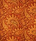 Home Decor 8\u0022x8\u0022 Fabric Swatch-Upholstery Fabric Barrow M8090-5468 Ruby