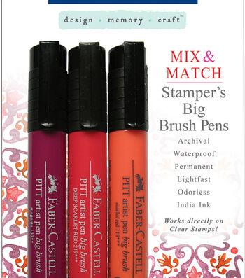 Faber-Castell design-memory-craft Mix & Match Stamper's Big Brush Pen Set of 3-4 Sets