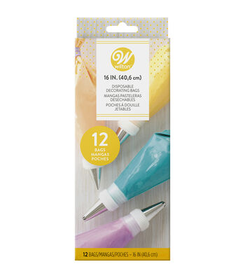"""Wilton® Disposable Decorating Bags 16"""" 12/Pkg-"""