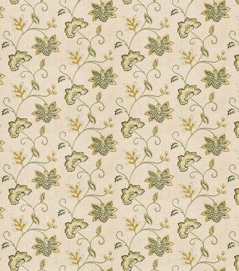 "Eaton Square Print Fabric 53""-Finale/Cypress"