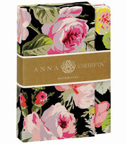 Anna Griffin Grace Black Floral Notebook Set, , hi-res