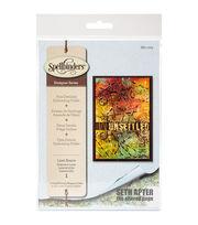 Spellbinders® Seth Apter Large Embossing Folder-Laser Beams, , hi-res