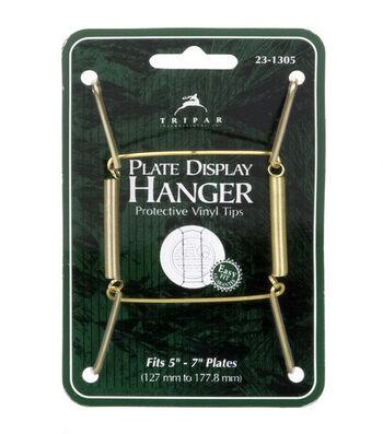 Tripar International Inc Brass Plate Hangers 7.5'' to 9.5''