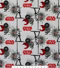 Star Wars™: The Last Jedi Flannel Fabric 42\u0022-Red & BB8