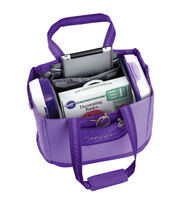 Wilton® Decorator Preferred Carry-All Tote Bag-Purple, , hi-res