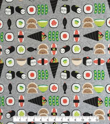 "Doodles® Cotton Fabric 57""-Sushimi Friends"