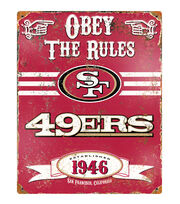San Francisco 49ers Vintage Sign, , hi-res