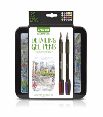 Crayola Signature 20 ct Gel Pens