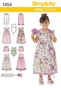 Simplicity Pattern 1454A 3-4-5-6-7--Child Sportswear