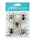 Jolee\u0027s Boutique® 6 pk Dimensional Stickers-Beaded Spiders